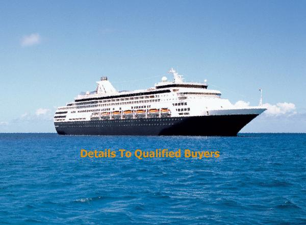 Cruise Ship 1258/1605 Passengers - Stock No. S2043