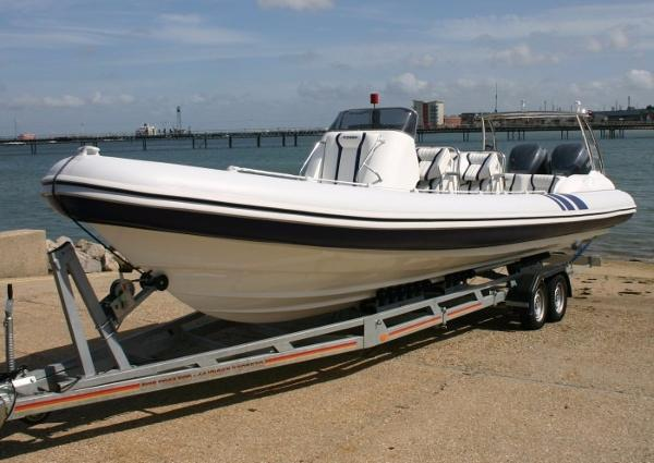 Cobra Ribs Nautique 9.7m Manufacturer Provided Image: Cobra Ribs Nautique 9.6m