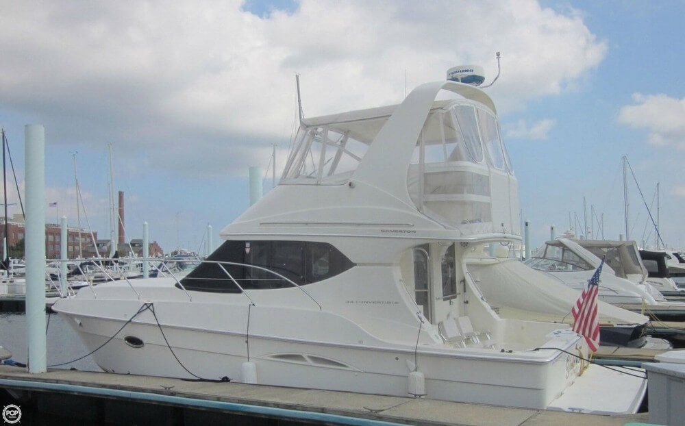 Silverton 34 Convertible 2004 Silverton 34 Convertible for sale in Baltimore, MD