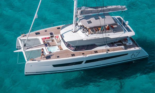 Fountaine Pajot Catamaran Alegria 67 Manufacturer Provided Image
