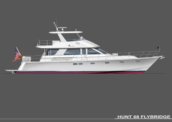 Hunt 68 Flybridge Express