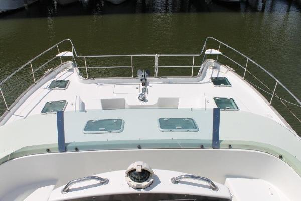 Bow View From Flybridge
