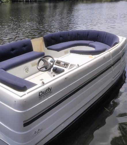 Duffy Electric Catamaran 16 Interior
