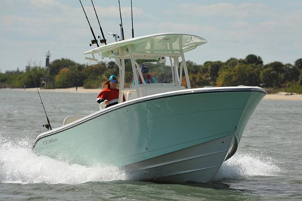 Cobia Boats 261 Center Console Manufacturer Provided Image