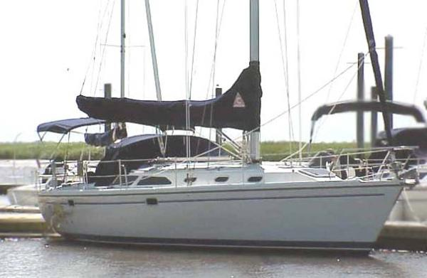 Catalina 42 MkII Starboard Profile