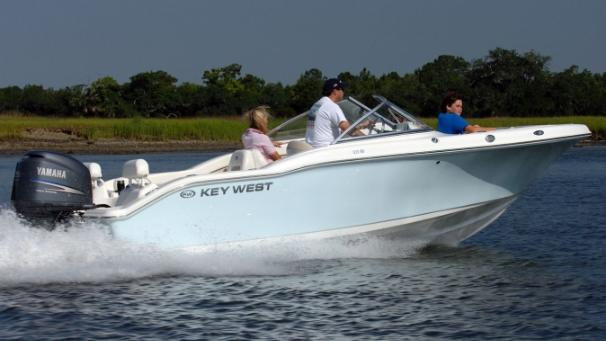 Key West 211 Dual Console Manufacturer Provided Image