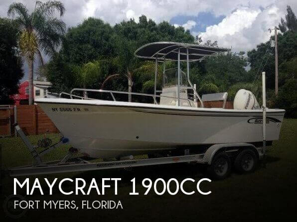 May-craft 1900CC 2007 Maycraft 1900CC for sale in Fort Myers, FL