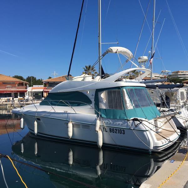Jeanneau Prestige 36 actual vessel