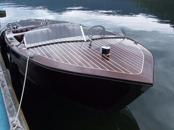 Custom St. Clair Boatworks Barrelback