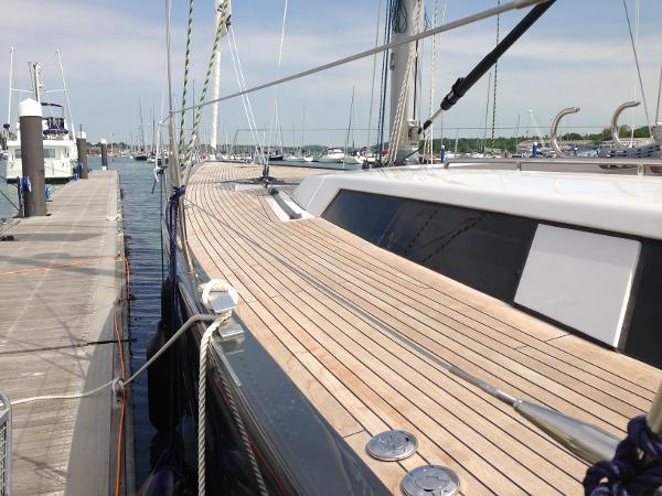 Hanse 630e Hanse 630 'Batsheva' side deck