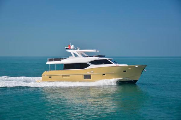 Majesty Nomad 65 Gulf Craft Majesty Nomad 65
