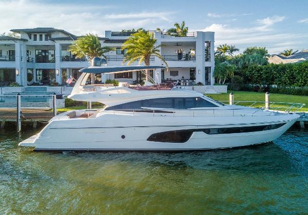Ferretti Yachts 650 2016 Ferretti 650 - Profile