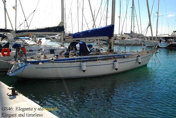 Elegant sailing vessel
