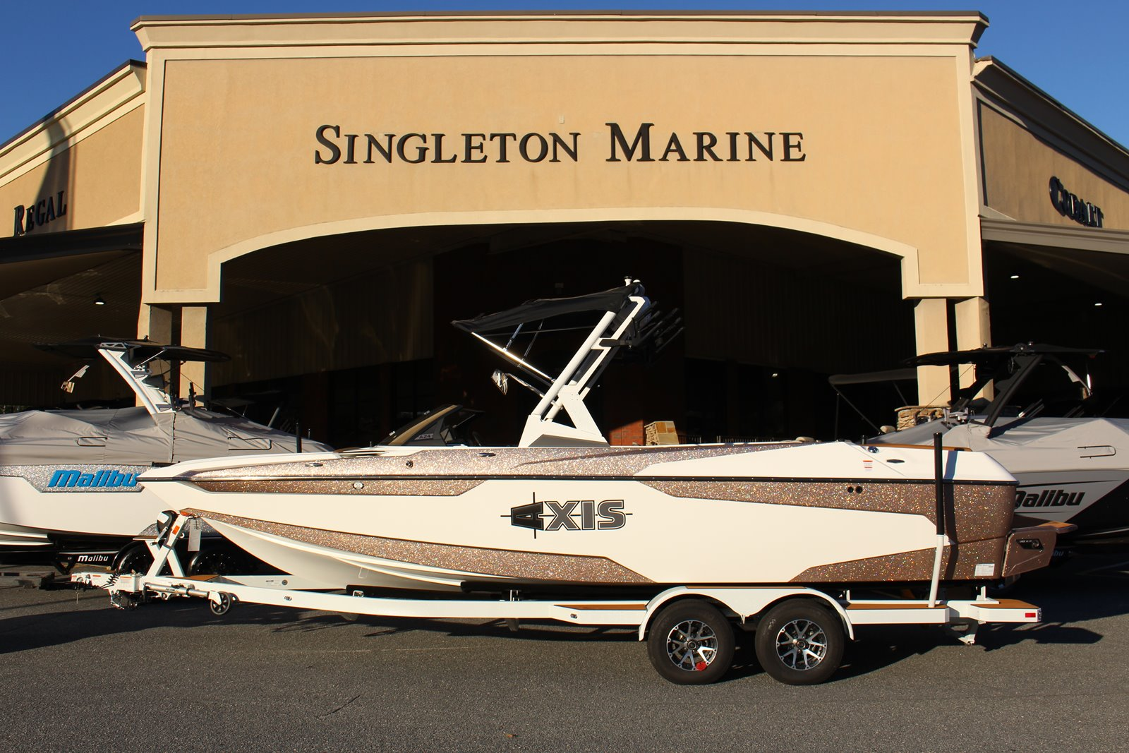 axis a24 boat price