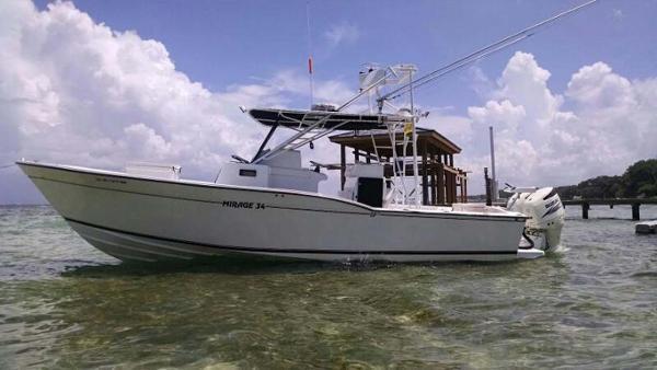Mirage 34 Sportfish Profile