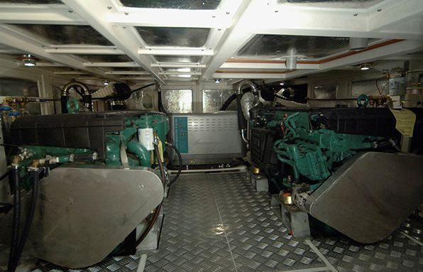 Adagio 48 Engine Room