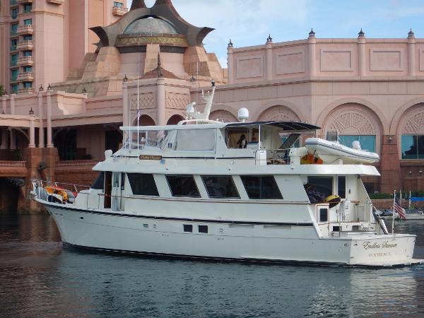 Hatteras 77 Cockpit Motor Yacht Profile