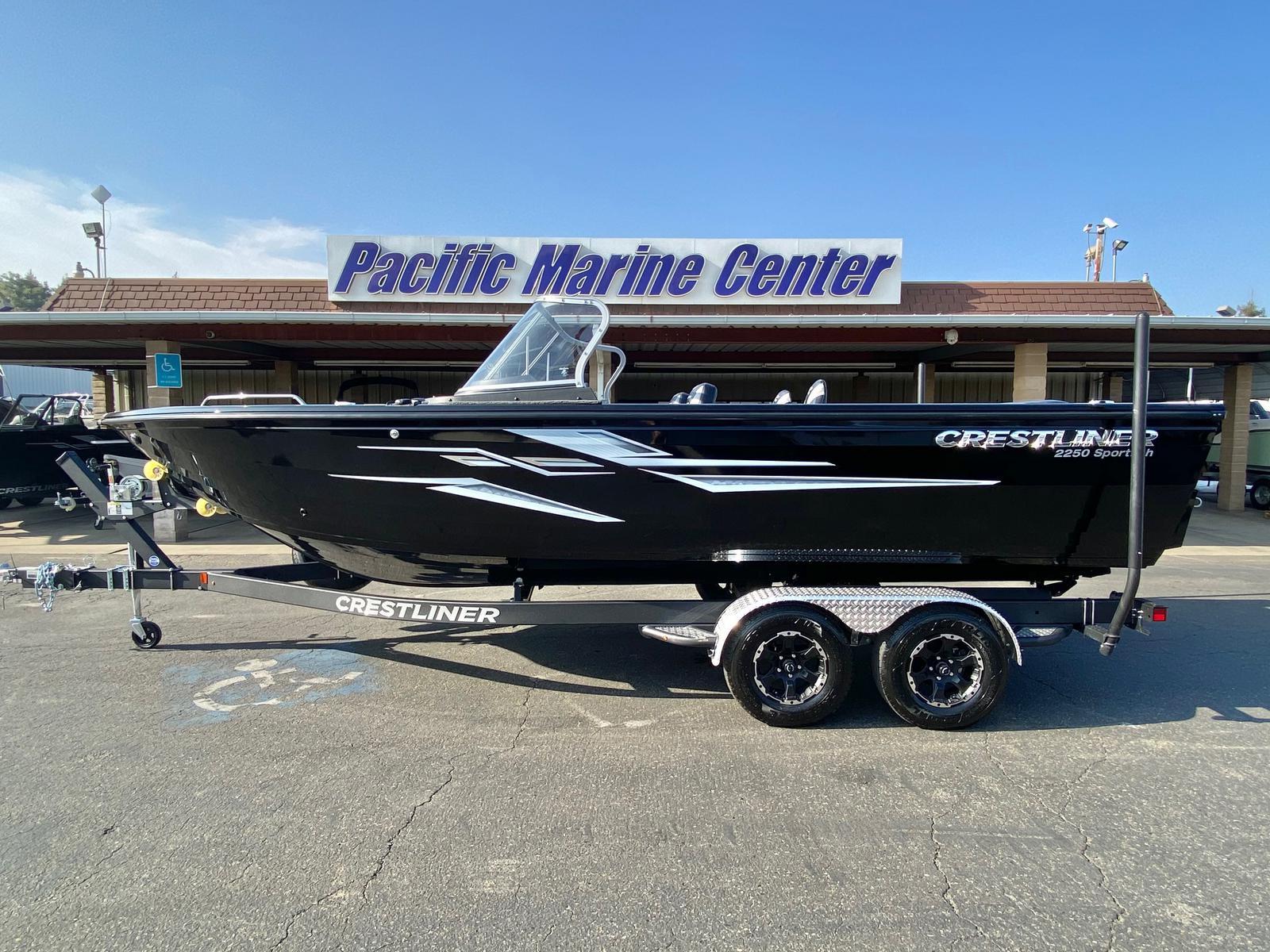 Crestliner 2250 Sportfish w/ 250HP Mercury Verado!!