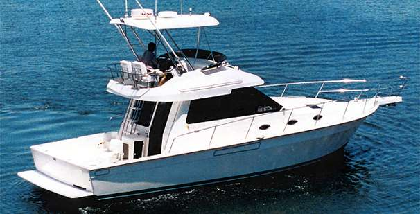 Mediterranean 38 Convertible Manufacturer Provided Image