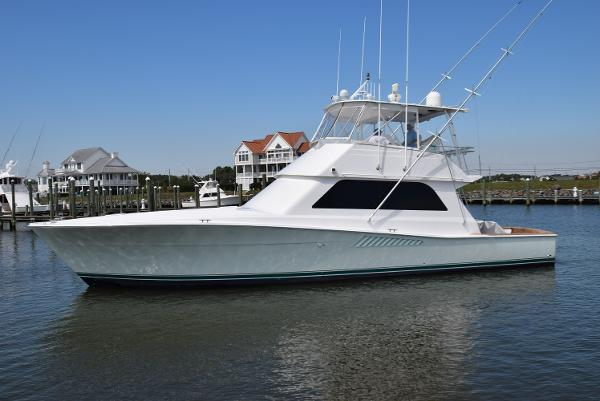 Viking 50 Conv Sport Fisher Viking 50 Convertible Port View