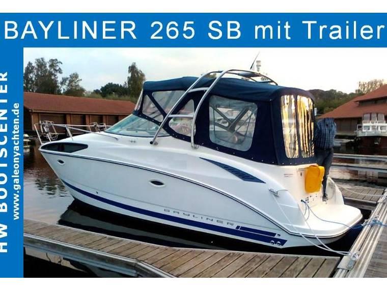 Bayliner Bayliner  265 SB mit Trailer