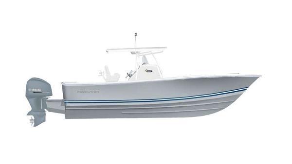 Regulator 28 28 - Storm Grey with Navy.White.Navy Boot