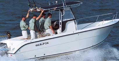 Sea Fox 257 Center Console Manufacturer Provided Image
