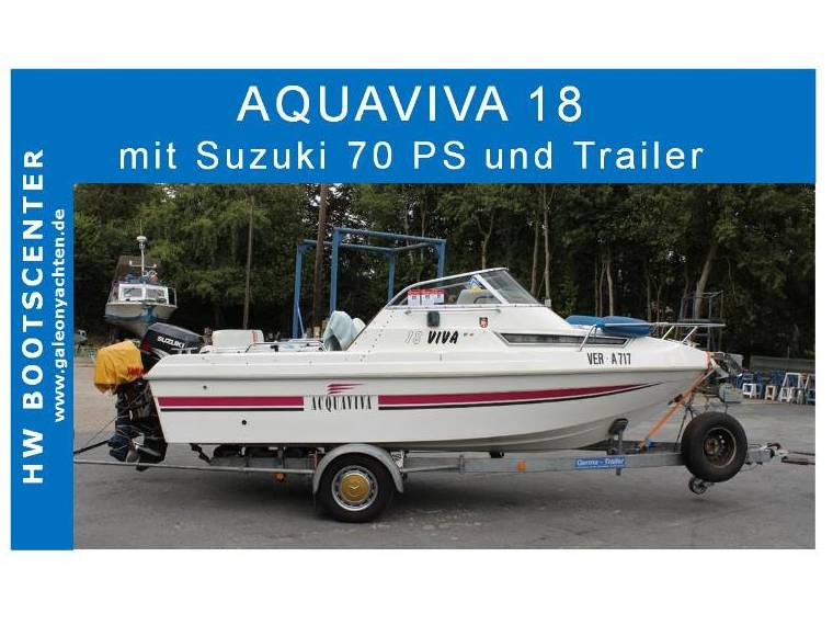 Aquaviva Acquaviva IT  18 mit Motor und Trailer
