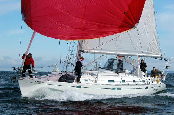 Beneteau Oceanis 461 Sailing