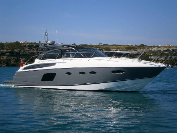Princess V48 Open Used Princess V48 for sale in Menorca - Clearwater Marine