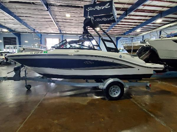 Sea Ray 190 SPX-OB ELEVATION