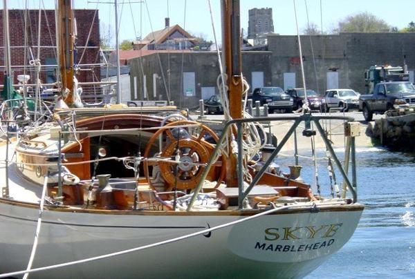 Concordia Yawl Skye from Astern