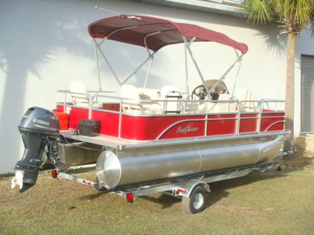 SunChaser Pontoon Oasis 18 4-Point
