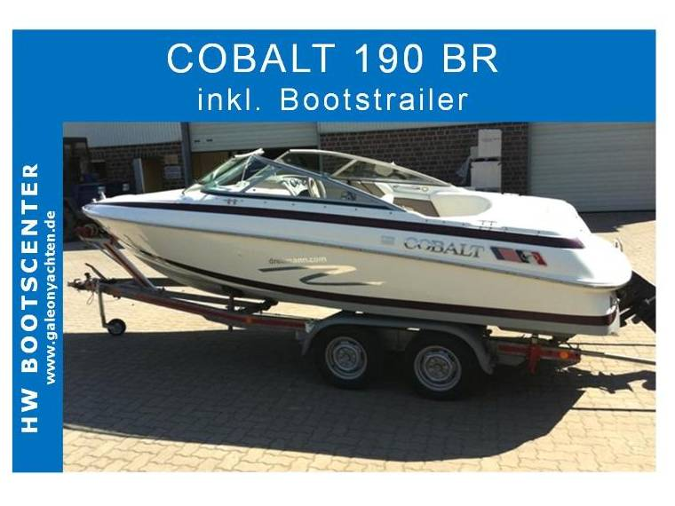 Cobalt Cobalt Boats USA  190 BR mit Trailer