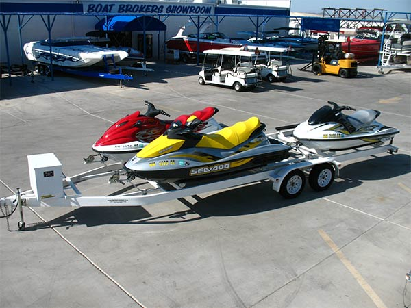 Sea Doo Yamaha PWC & Trailer Package