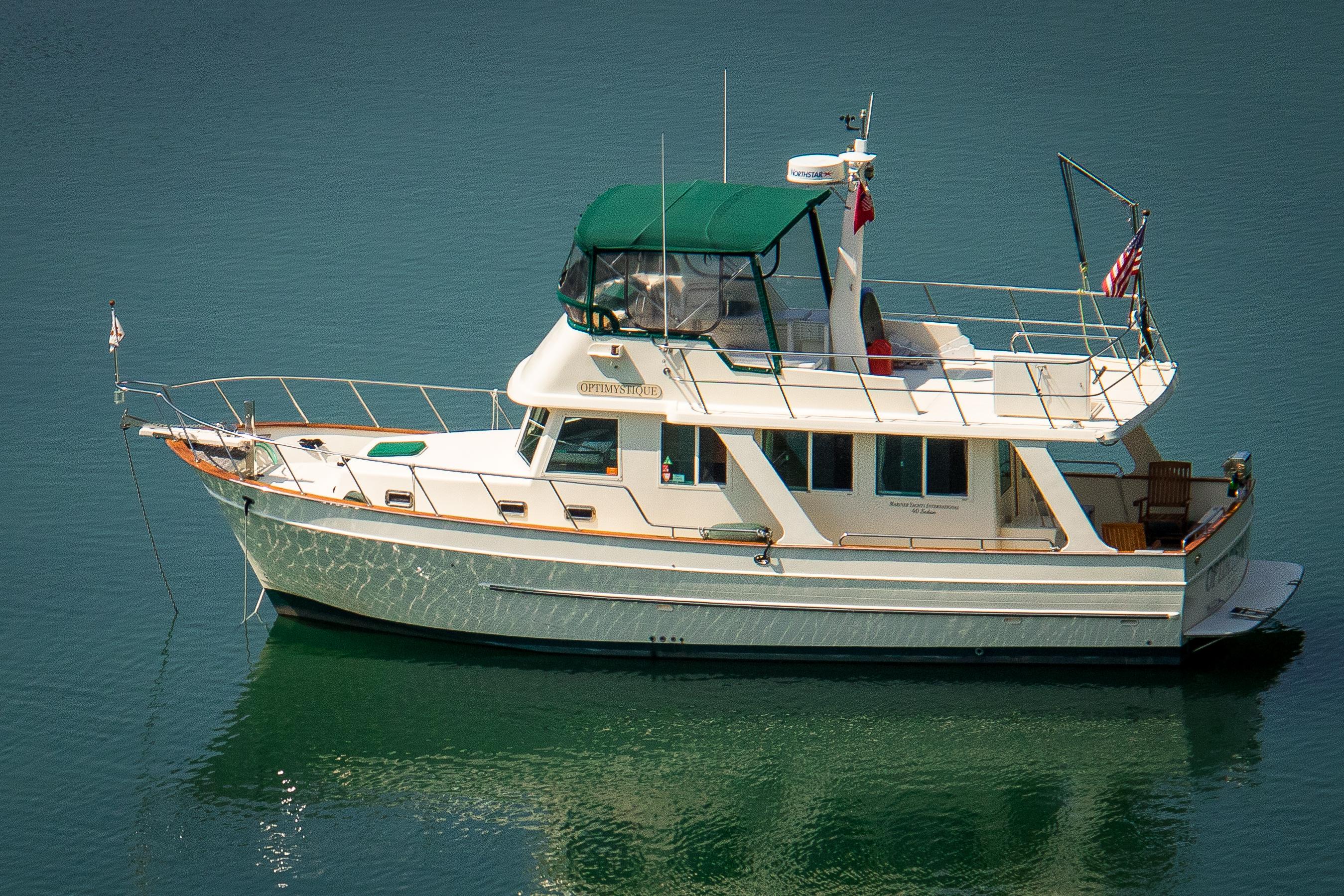 Mariner International Sedan 40' Mariner Trawler Profile