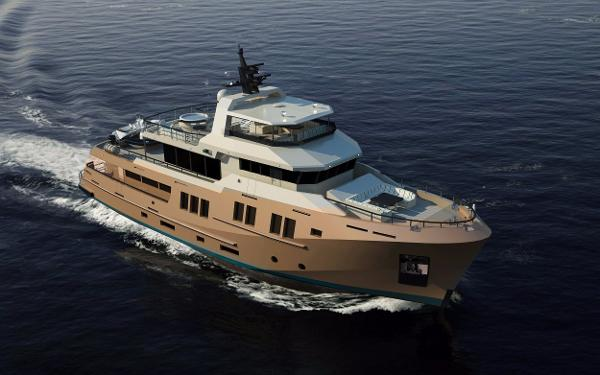 Bering 115 Bering 115 - Steel expedition yacht