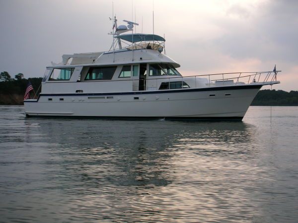 Hatteras Cockpit Motor Yacht Photo 1