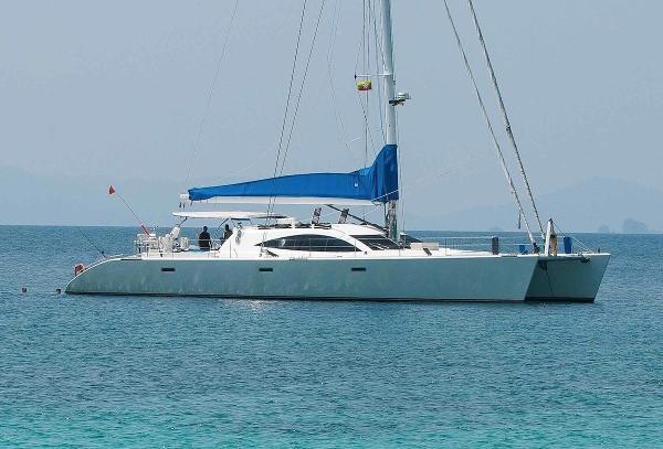Concordia 21 m. Catamaran