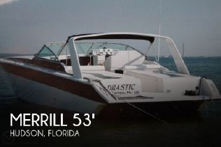 1996 Merrill Power Boats 53 Ultima Offshore for sale in Hudson, FL