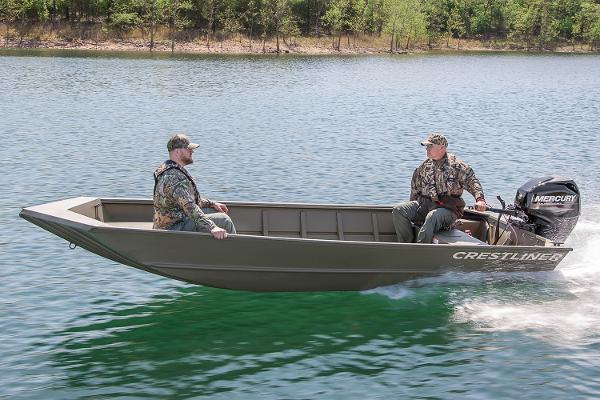 Crestliner 1650 Retriever Jon