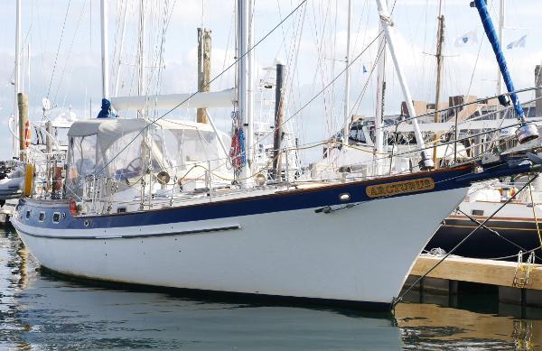 Vagabond Blue Water Westwind 42 offshore