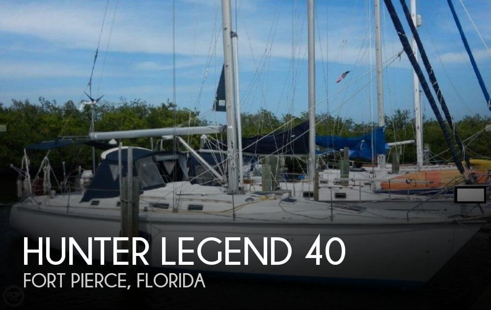 Hunt Legend 40 1988 Hunter Legend 40 for sale in Fort Pierce, FL