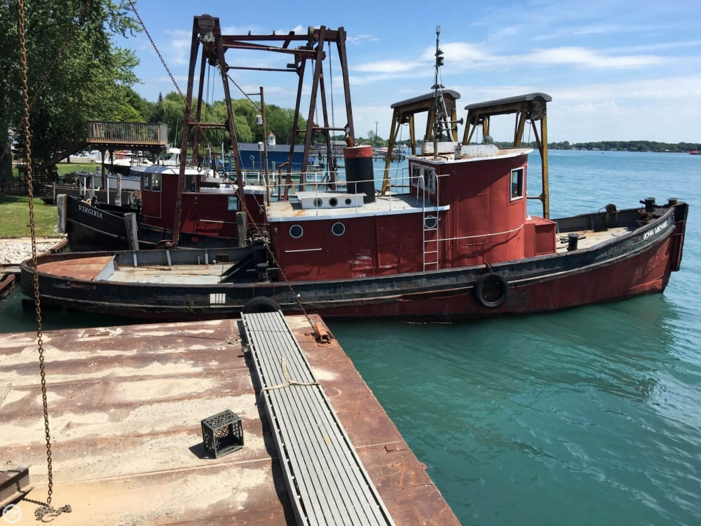 Steel Riveted Steel Tug 1913 Steel 60 for sale in Algonac, MI