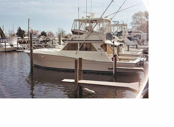 Viking 41 Conv Sport Fisher At The Dock