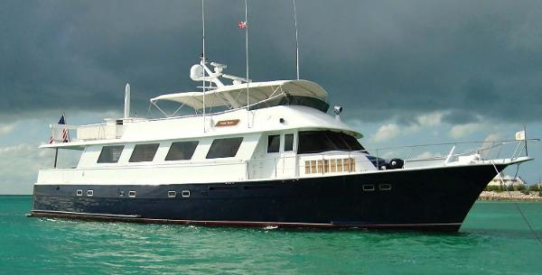 Hatteras Aft Deck Motor Yacht