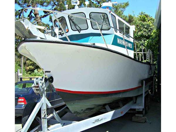Custom Sport Fishing, Dive, Work Boat
