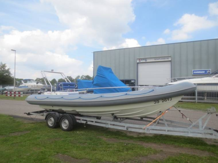 Technic Rib boats Arctic Blue 22