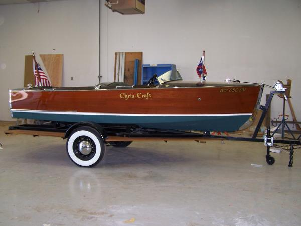 Chris-Craft Sportsman Runabout Restored