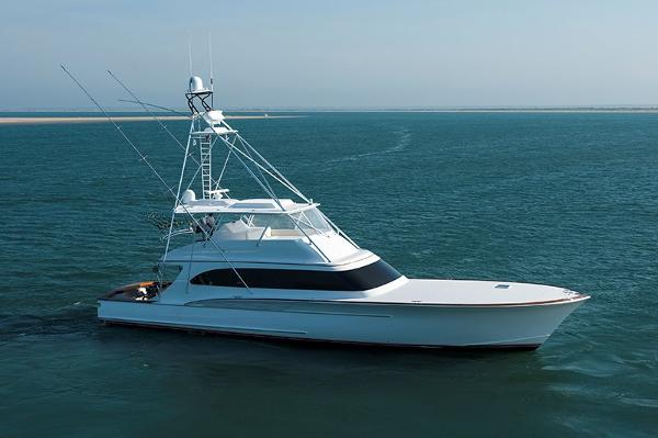 Jarrett Bay Convertible Profile